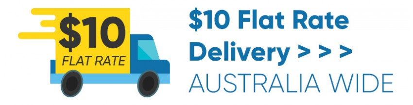 $10 Flat Rate Delivery